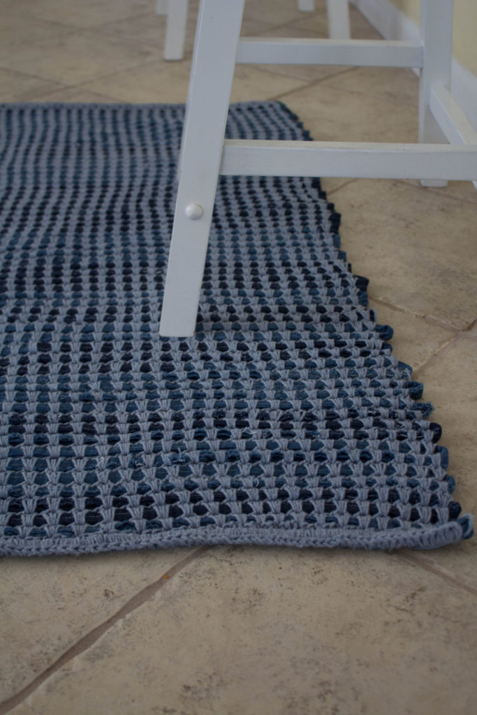 Padded Crochet Rug from Annie's Crochet World