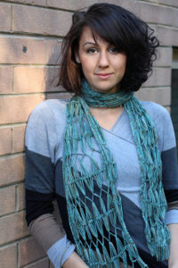 Hairpin Lace Scarf One Salt Sea @ Dances with Wool | Midlothian | Virginia | United States