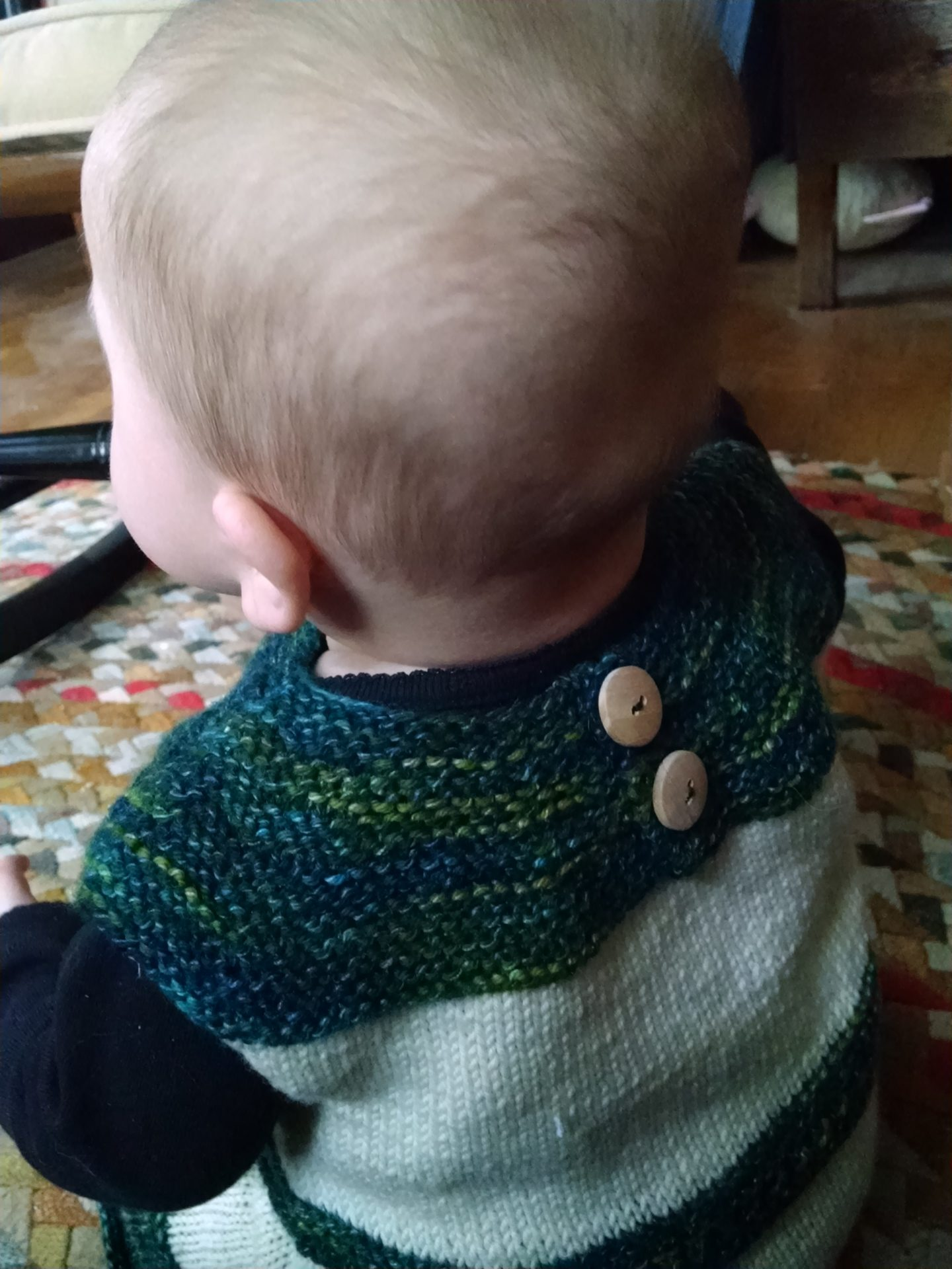 Little Turtle wearing Rosemary and Bay